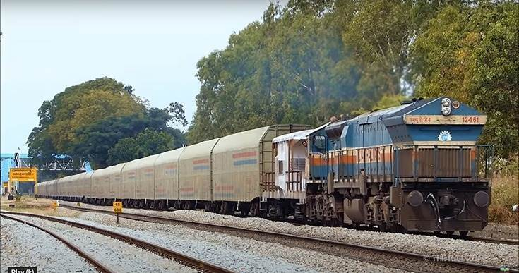 By rail-freighting vehicles, OEMs can reduce their logistics costs by as much as 15-40%. Improved railcar design and specialised railcars have helped increase the amount of freight trains carry.
