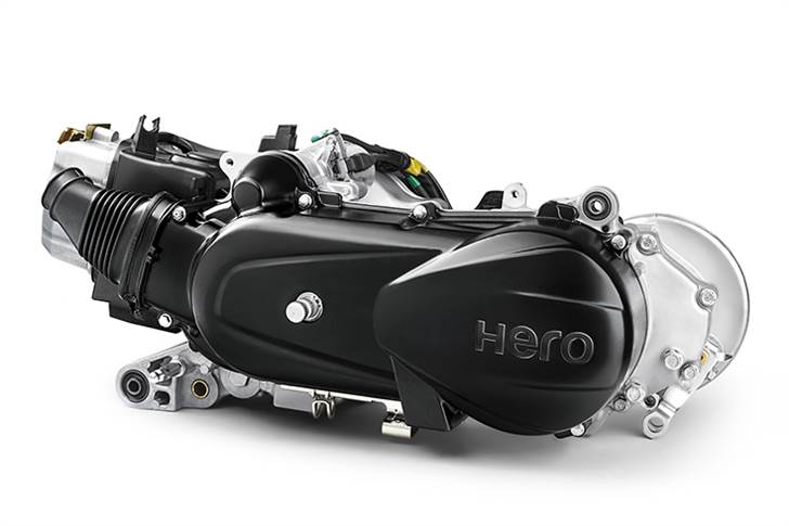 125cc, air-cooled, single-cyl motor develops 8.7hp and 10.2Nm, and delivers 51.5 kilometres per litre.