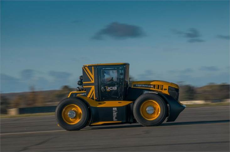 JCB Fastrac Two chews up the miles (and fields)