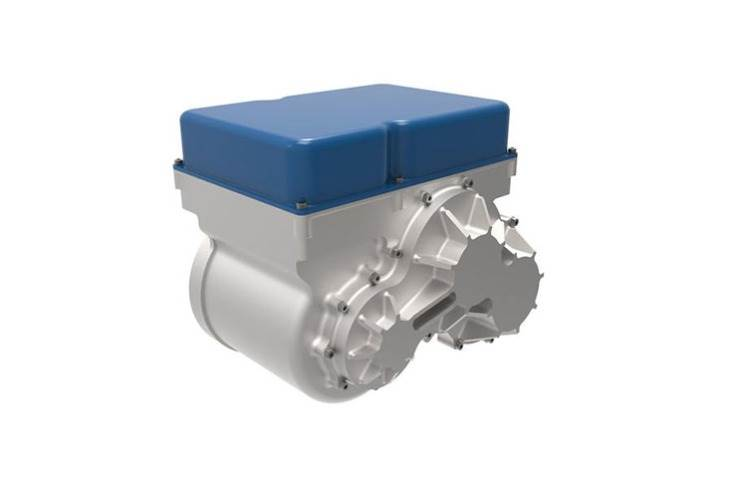 The Ampere's 27bhp per kg output gives it a better power density rating than any conventional electric motor on sale.