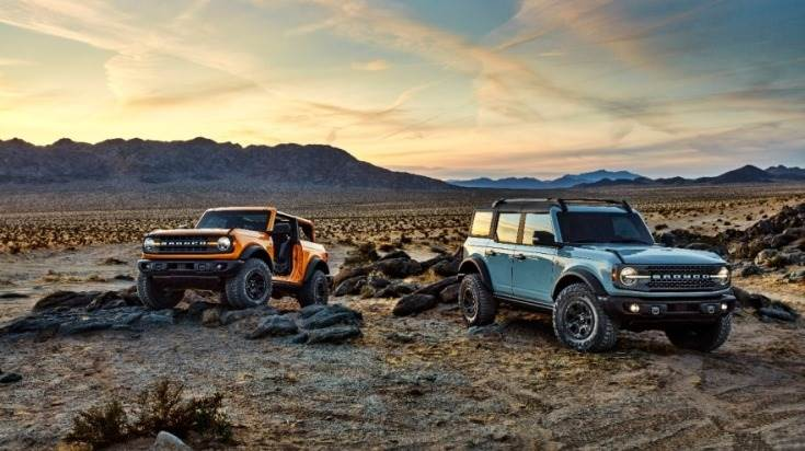 Ford has unveiled the 2021 Bronco – including a classic two-door and first-ever four-door – the flagship of an all-new family of rugged off-road vehicles.