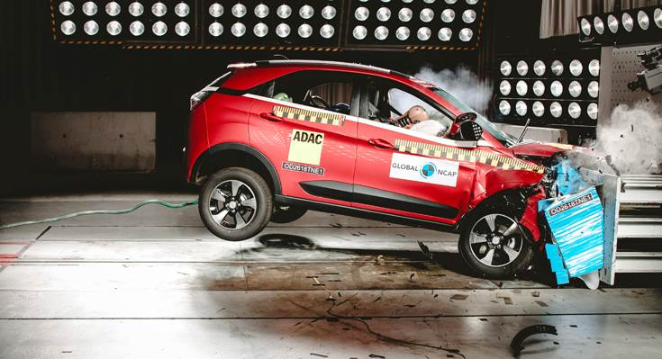 Tata Motors' first-ever compact SUV becomes the first made-in-India, sold-in-India car to achieve Global NCAP's five-star crash test rating