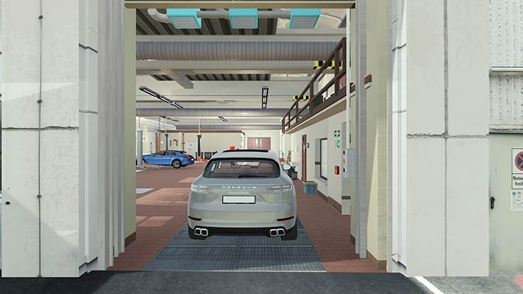 The aim of the joint project is to enable vehicles to drive from their parking space to the lifting platform and back again, fully autonomously.