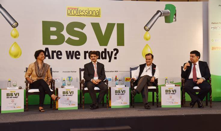 Session VII: BS VI Impact on Clean Air. L-R: Centre for Science & Environment