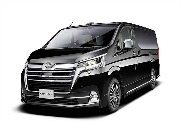 New Toyota Granace is 5300mm long, 1970mm wide and 1990mm tall, with a 3210mm wheelbase.