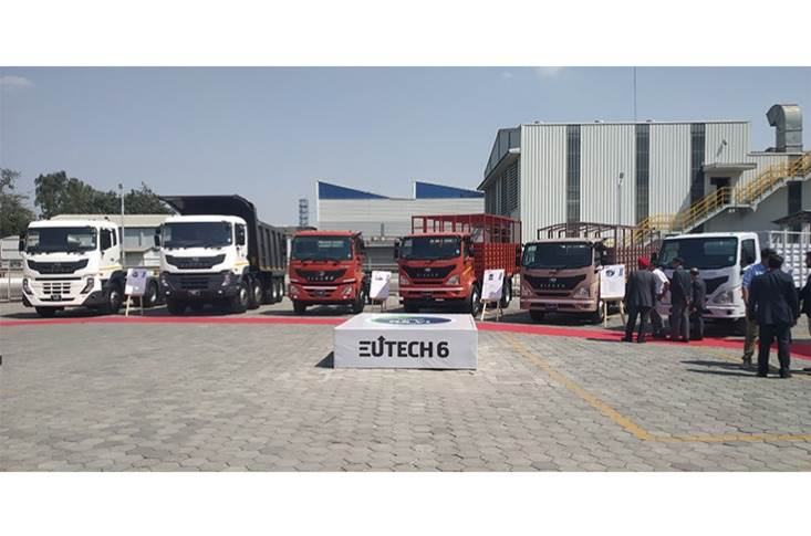 The entire new BS VI range of trucks and buses will be available throughout the country starting this month.