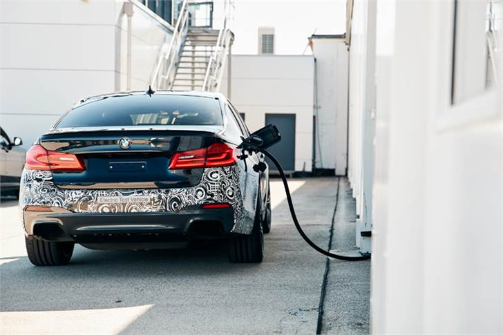 BMW Group trial vehicle 'Power BEV' explores what is technically possible.