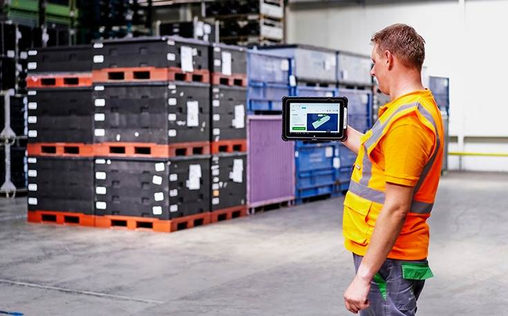 The Optikon program uses AI technologies and includes up to 400 different pallet types in its calculations.