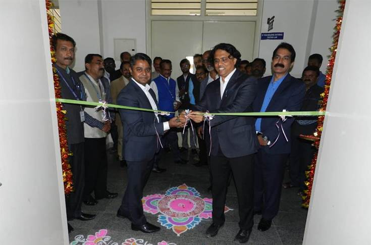 K V Rajendra Hegde – General Manager and M K Swamy – General Manager representing Toyota Kirloskar Motor at the inauguration of Toyota Centre of Excellence