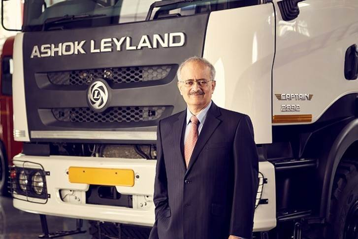 "Vipin Sondhi, MD & CEO, Ashok Leyland, said, ""As we march towards our vision of being among the Top 10 Global CV Makers, it is equally important that we do this sustainably."