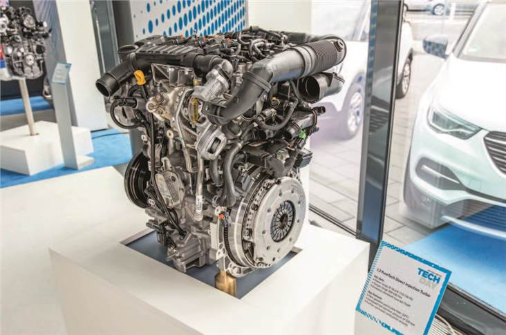 Ru¨sselsheim HQ will be responsible for new four-pot motors.