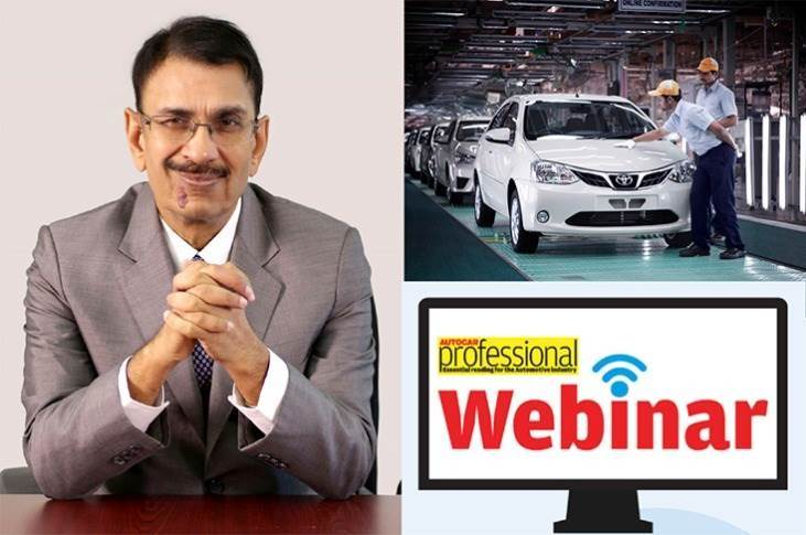 """S Viswanathan at Autocar Pro's Earth Day webinar: """"A scrappage policy is the urgent need of the hour. Also, whatever products we design, we need to assess as to whether they solve affordable mobility needs while minimising emissions."""""""