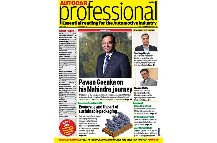 Autocar Professional's April 1 issue is a 'Green Industry Special'