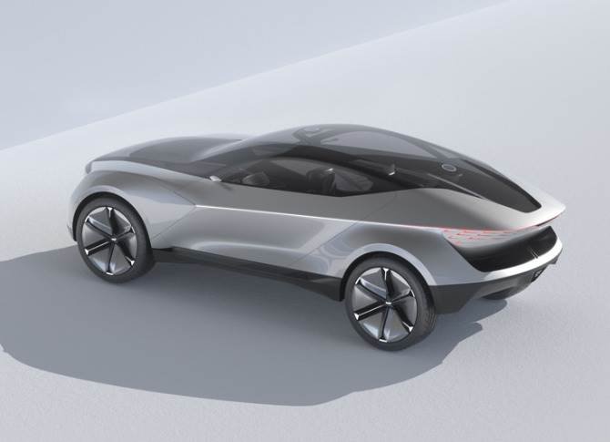 The novel proportions are striking and the low-profile SUV coupe body makes a strong statement of intent for Kia's future cars. Futuron's fully-electric powertrain makes this shape possible.