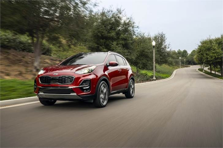 The Sportage SUV registered sales of 7,165 units.