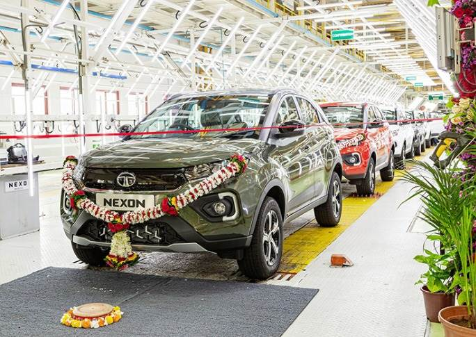 On June 10, 2021, the 200,000th Nexon rolled out from Tata Motors' Ranjangaon plant in Pune. Surging demand for the compact SUV has meant that the last 50,000 units were produced in less than 6 months