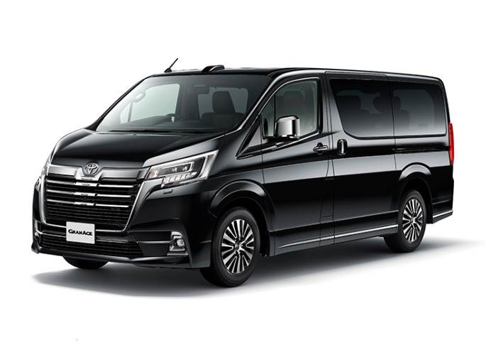 The new Granace comes in two grades: Premium grade, a three-row, six-seater priced at 6,500,000 yenThe new Granace comes in two grades: Premium grade, a three-row, six-seater priced at 6,500,000 yen  (Rs 42.25 lakh) and G grade, a four-row, eight-seater priced at 6,200,000 yen (Rs 40 lakh)).