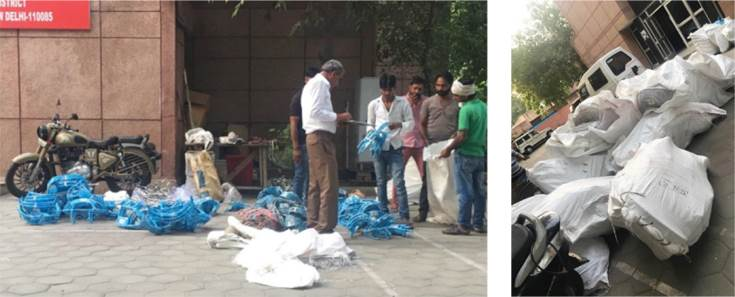 Another fake parts and packaging dealer raided in the Bawana Industrial Area in Delhi.