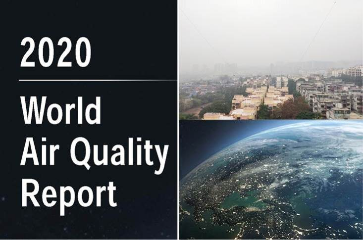 The 2020 World Air Quality Report is based on PM2.5 data from 106 countries. 84 percent of all monitored countries observed air quality improvements, largely due to measures like lockdown to arrest the spread of Covid-19.
