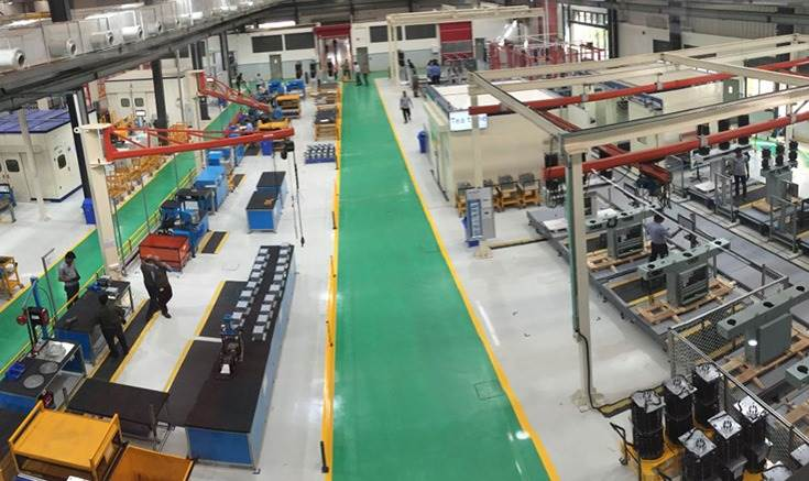 ABB's Nashik facility is equipped with smart manufacturing features for connecting people, processes and assets, capable of relaying real-time data and a web-based integrated traceability system for daily planning and review.