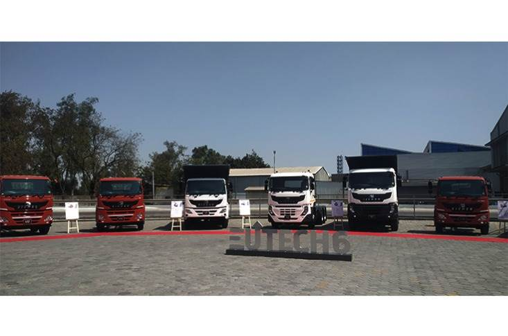 The new platform combines VECV's Euro 6 expertise with reliable engine technology and fuel-efficient driveline.