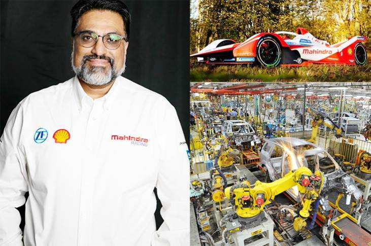 """Dilbagh Gill: """"Traditionally, Mahindra has worked on low-voltage EVs between 32 and 48 volts, but when we talk about Formula E, we are talking about 800V-1,000V."""""""