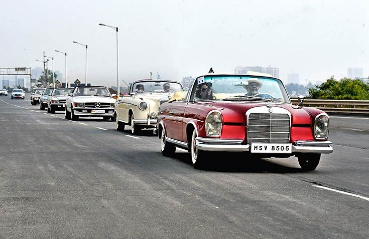 The Mercedes-Benz Classic Car Rally, which has been organised by Autocar India since 2014, saw over 40 cars participated this year.