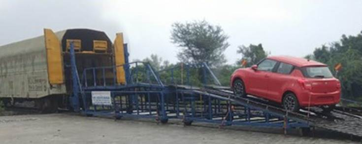 Mruti Suzuki India, which began using the Indian Railways network in March 2014 to transport its cars from its plants in NCR, has rail-freighted over 670,000 cars since then.
