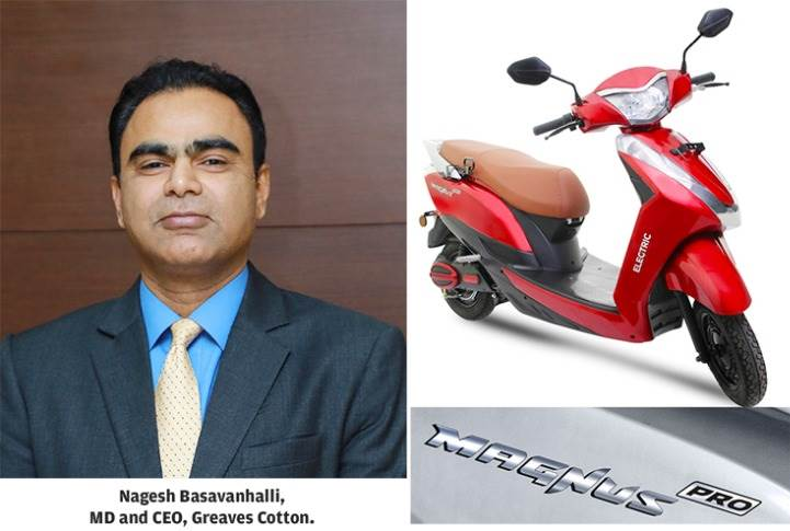 Nagesh Basavanhalli: 'The new Magnus e-scooter is an important milestone in our journey to strengthen Ampere's position.""