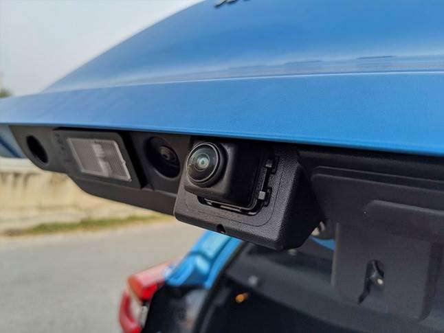 All of four cameras to offer feed into the 360-degree around view monitor.