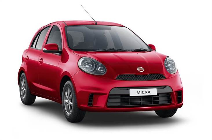 The Micra gets Nissan