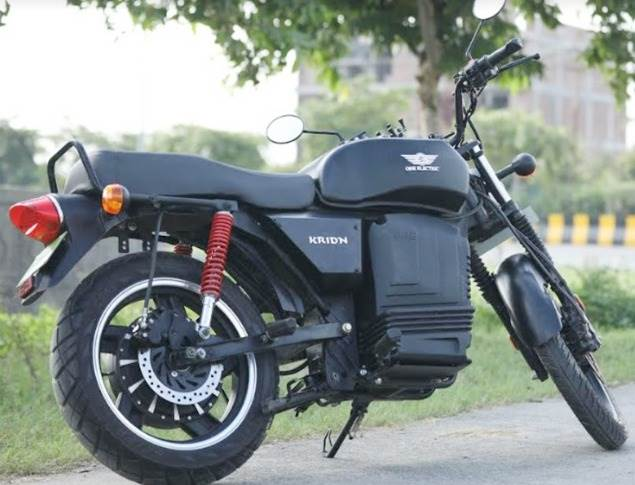 The Kridn has a riding range of 110km per charge and is priced at Rs 129,000 (ex-showroom).