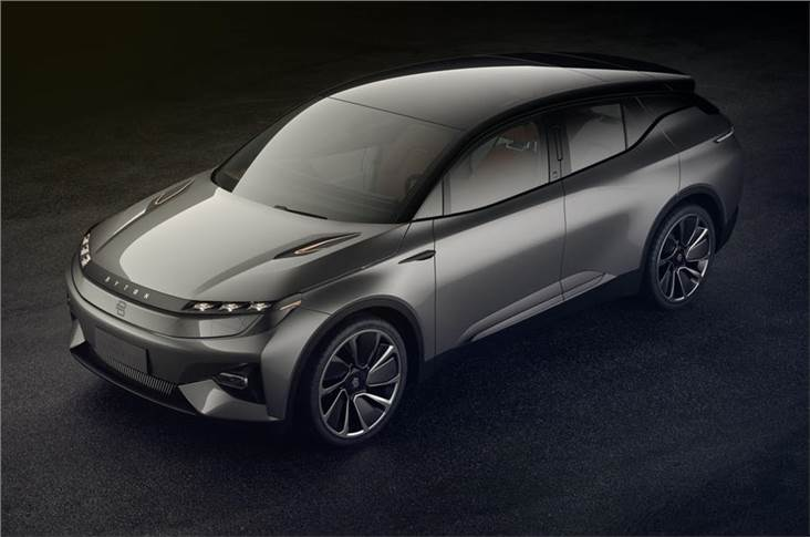 This Byton Concept previewed the new Chinese firm