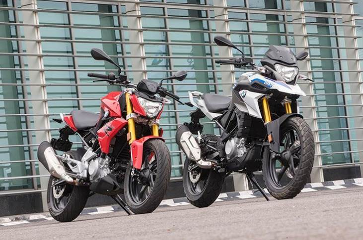 The two bikes are locally produced by cooperation partner TVS Motor Company in Hosur.