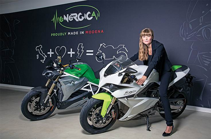 Energica's Livia Cevolini: 'What we are fighting now is what Tesla was fighting for in 2008.'