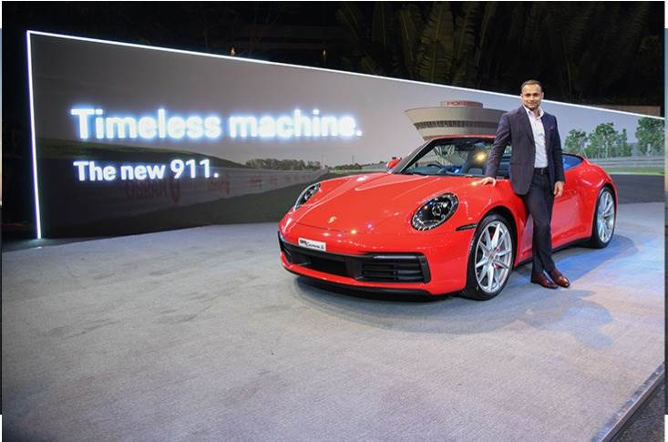 Porsche introduces all new the all-new 911 Carrera S Cabriolet.