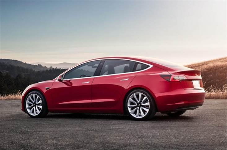 The Model 3 is currently Tesla