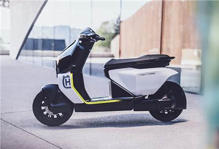 Husqvarna plugs into e-mobility, unveils scooter and motorcycle concepts