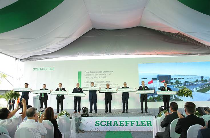 Schaeffler's new plant in Vietnam