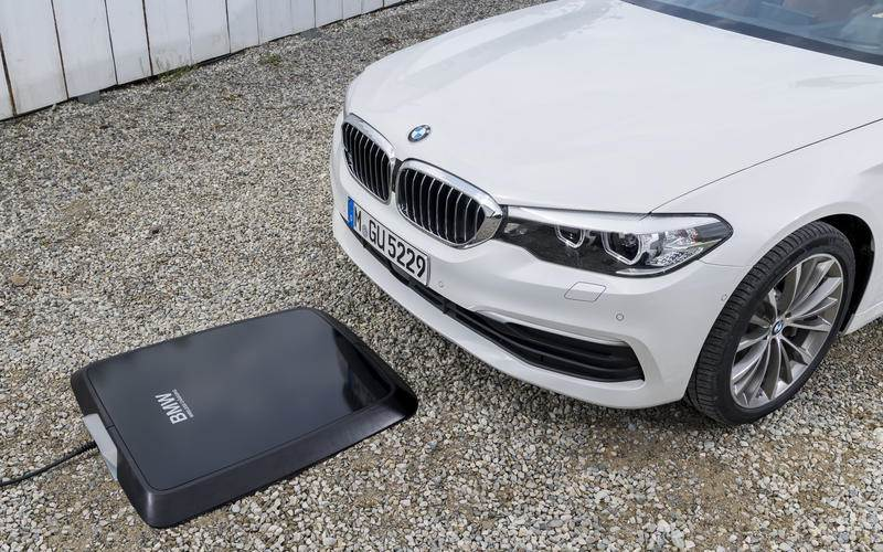 Inductive charging in BMW