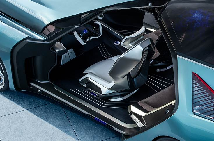 Lexus LF-30 Electrified cockpit