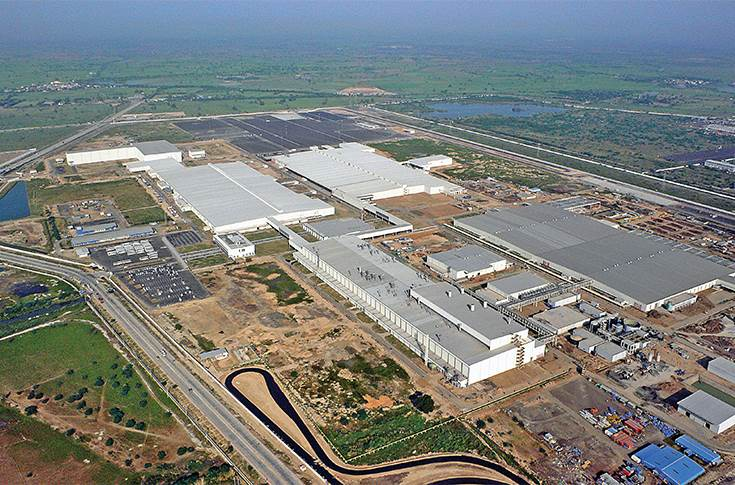 Ford India plant