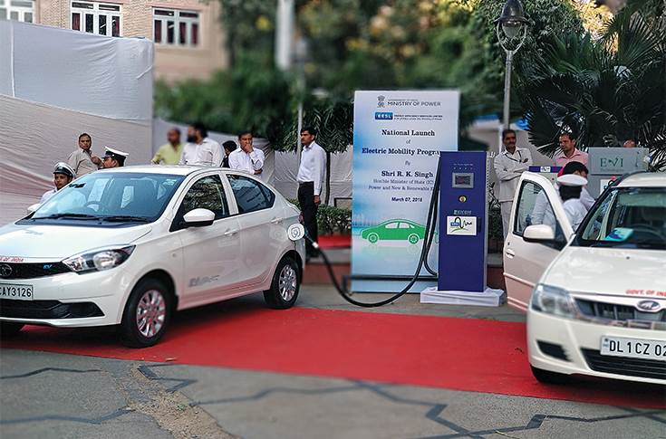 Chargers deployed for EESL