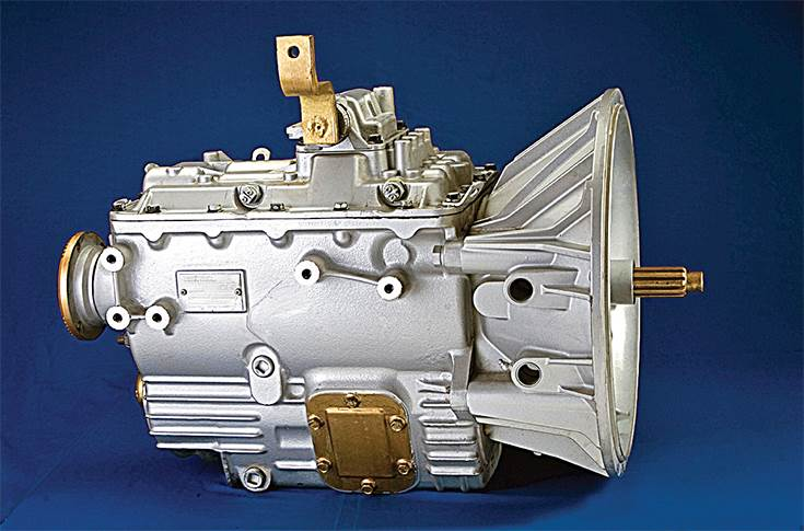 Eaton's six-speed transmissions