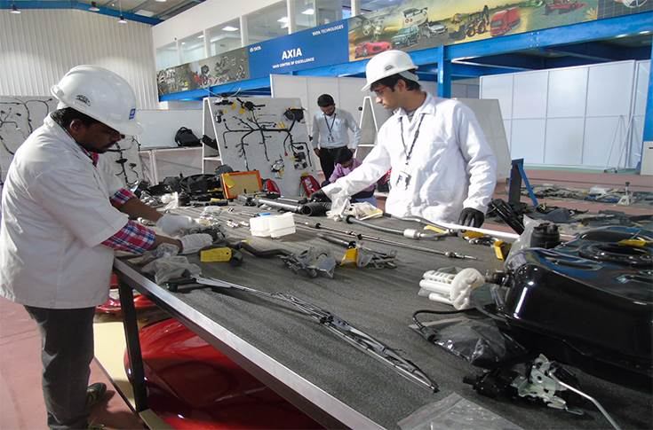 A glimpse of AXIA - Tata Technologies' Teardown & Benchmarking Lab