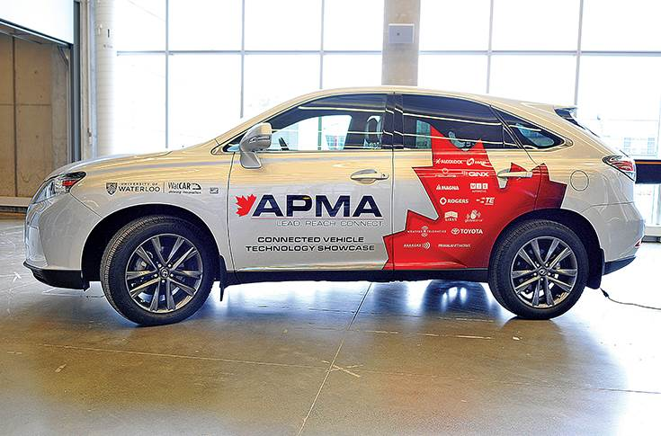 APMA Connected vehicle