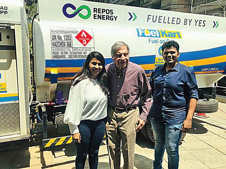 Ratan Tata for Repos Energy