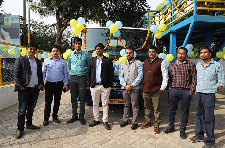 BPCL door delivery of diesel in Noida