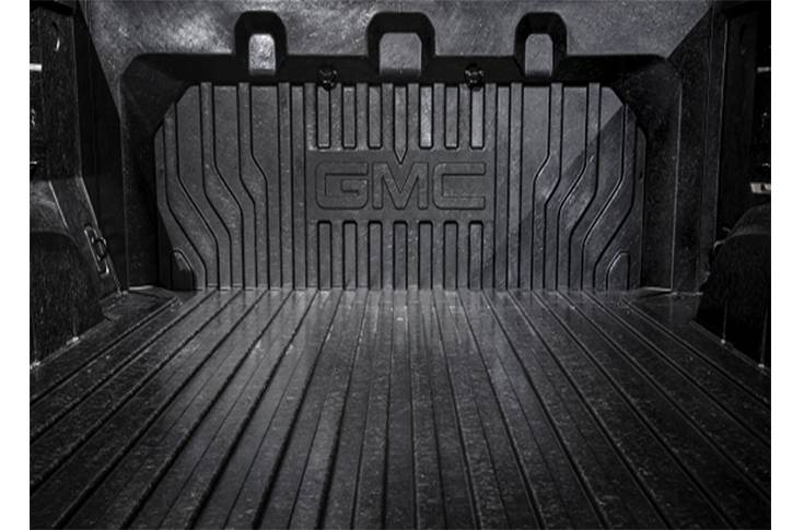 Carbon fibre reinforced thermoplastic in a General Motors truck