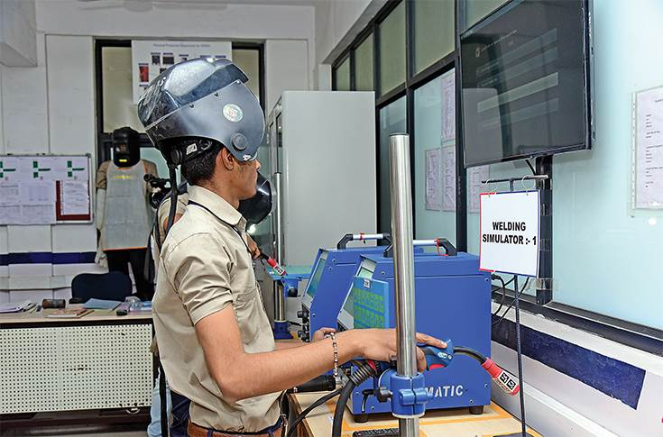 Welding simulators